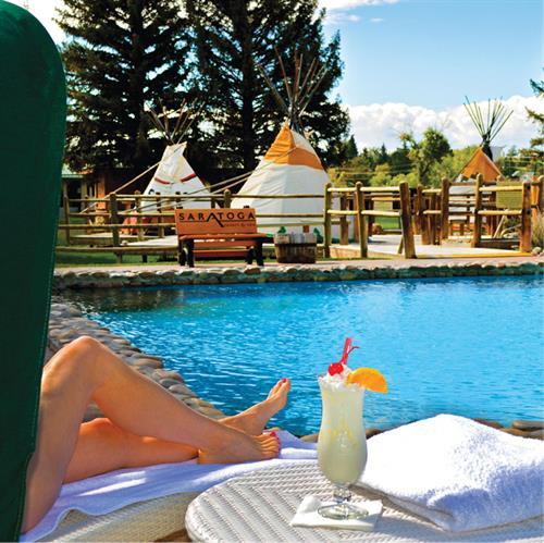 Mineral Hot Springs Pool