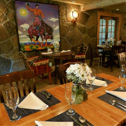 Fine Dining in the Silver Saddle Restaurant
