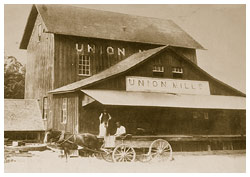 Union Mills  around early 1900's
