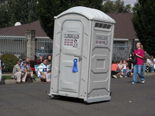 Mobile Potty (for parade use only)