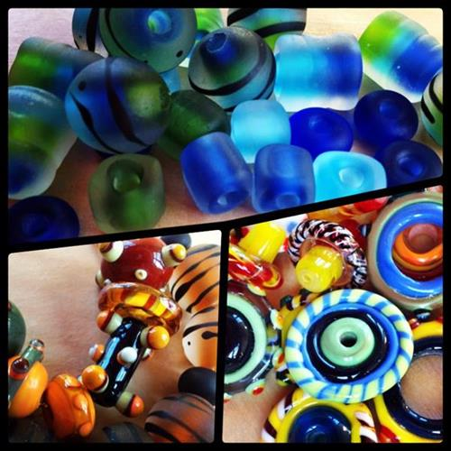 "Studio member""s glass beads"