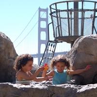 Splashing under the Golden Gate