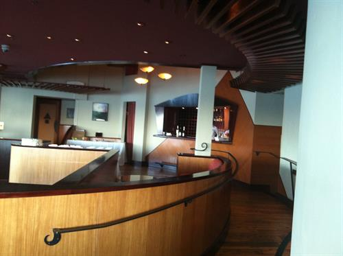 Events Ondine's private bar offering a customized experience for our guests