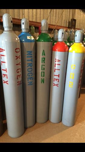 AllTex Bottles (Marked by Gas)