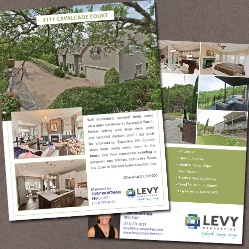 Custom Real Estate Flyers, Brochures & Booklets