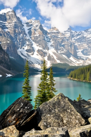 Banff Lake Louise, Canadian Rockies