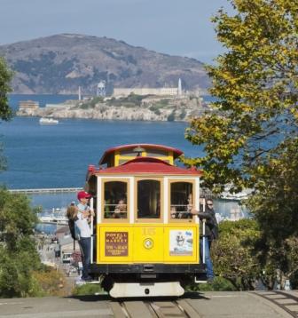 San Francisco California Trolley Car - A Real San Francisco Treat.