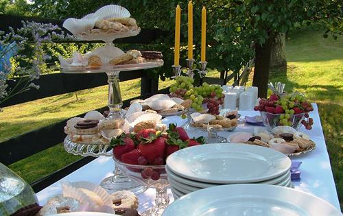Special Event Dessert Table Down by the Paddock