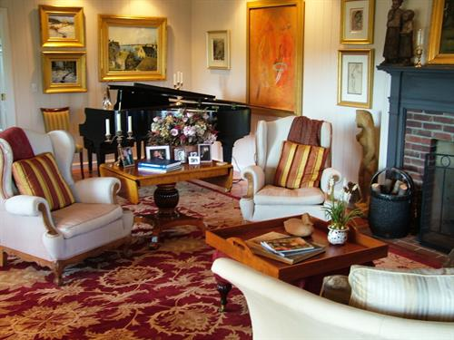 The Gathering Room and Baby Grand Piano - Common Area