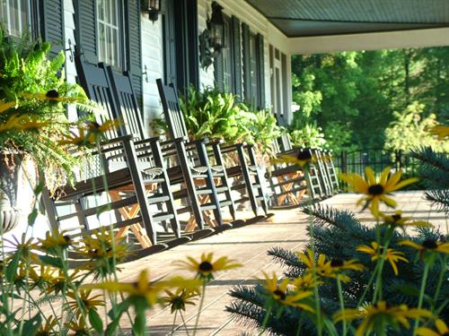 Wraparound Porches at The Inn