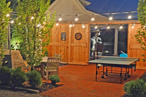 North Patio, Table Tennis, and Darts
