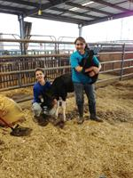 Members of the Iberville/ West Baton Rouge Parish Jr. Livestock Show Team