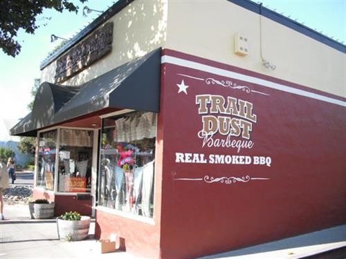 Trail Dust BBQ Restaurant. YUM!