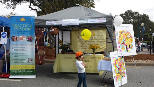 Taste of Morgan Hill - Happiness Booth