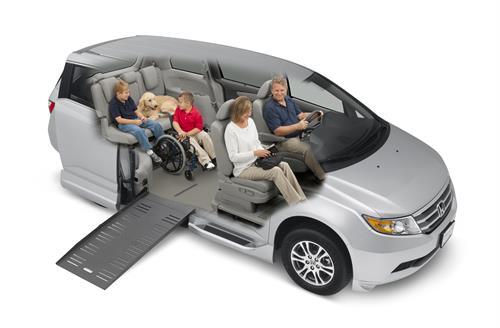 BraunAbility Honda Wheelchair Van