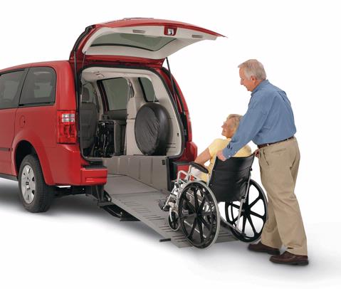 Rear Entry Wheelchair Van