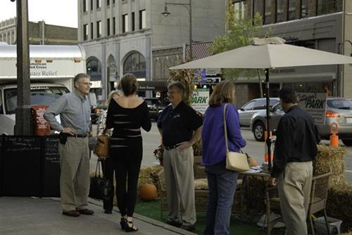 PARK(ing) Day with Mayor Tim Hanna