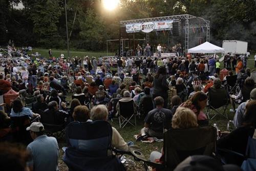 Heid Music Summer Concert Crowd