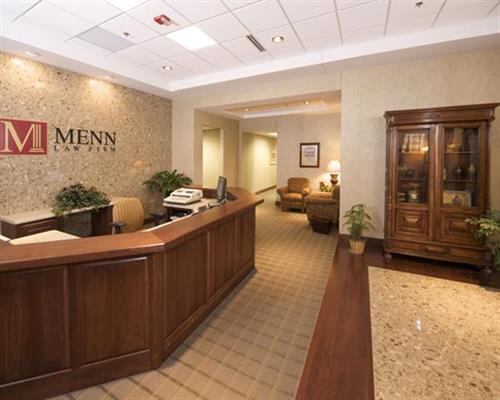 Menn Law Firm, Ltd. - Appleton lobby