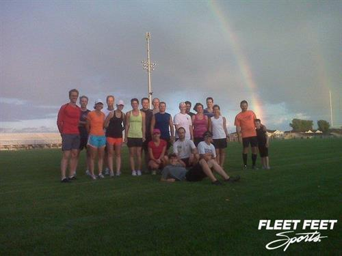 Training Programs are just one aspect of the business, such as the Track Workout program we held in 2011.