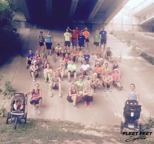 More fun from our Mizuno Fun Run/Walk Group. Join us Tuesdays, 6 p.m., Jones Park Appleton. 3-6 mile routes.