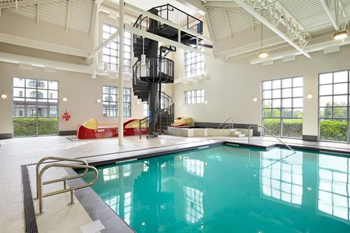 Indoor Pool & 3-Story Waterslide