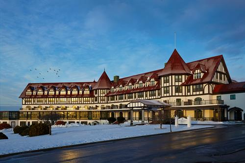 Algonquin Resort in winter