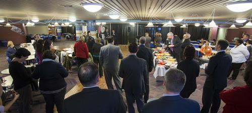 Great turn out for the Business Networking Mixer hosted by the Foundation on 12-Feb