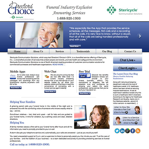 Directors' Choice Website