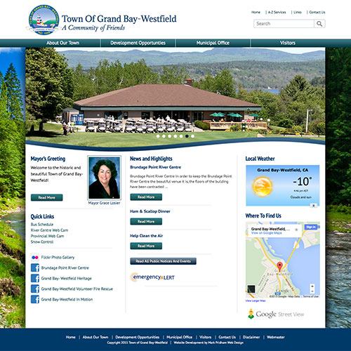 Town Of Grand-Bay Westfield Website