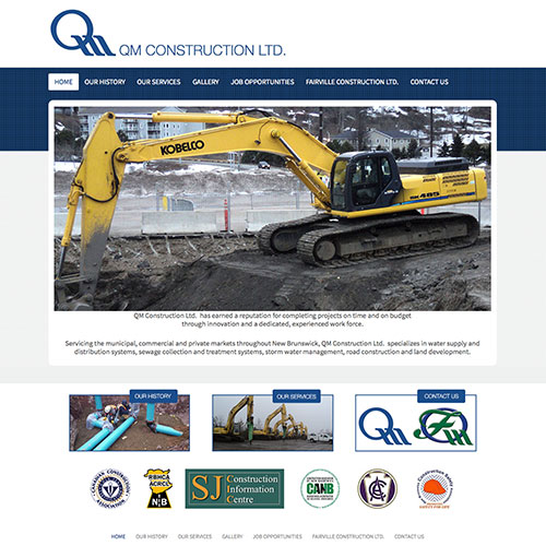 QM Construction Website