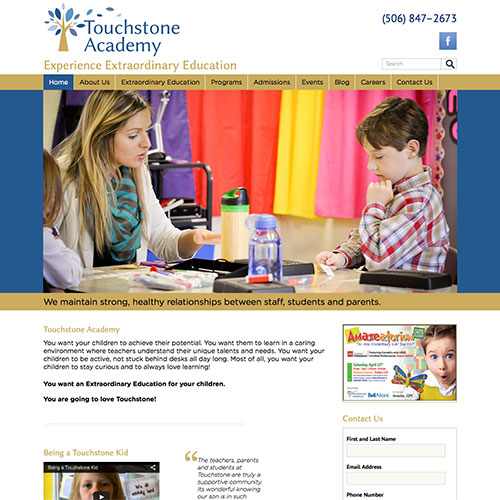 Touchstone Academy Website