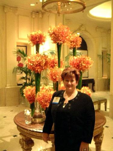 Katherine at Fine Homes Int'l Training, Beverly Hills