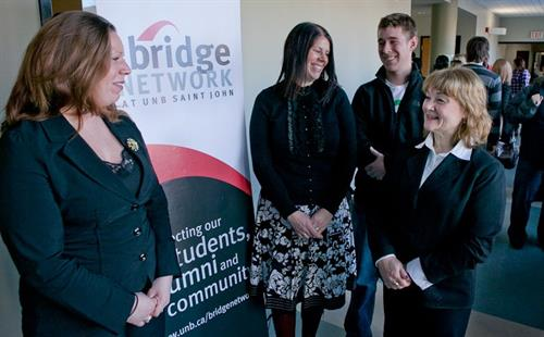 With Students at the Bridge Project Seminar