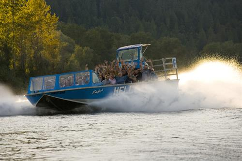 Hellgate Jetboat Excursions offers 5 different trips
