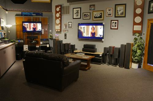 Home Theater Demo Room