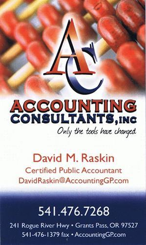 David Raskin - Business Card