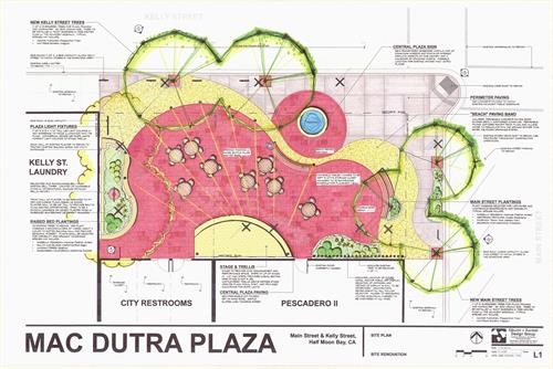 Mac Dutra Plaza Site Plan