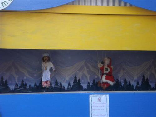puppet shows on wknds thru 12/15