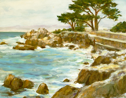 """Lovers Point"" by Ellen Joseph"