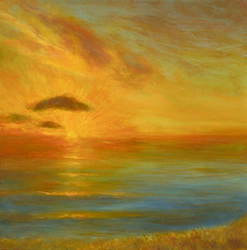 """Pacific Sunset"" by Ellen Joseph"