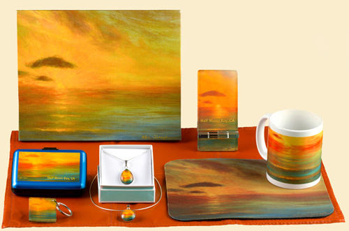 """Pacific Sunset"" Gifts"