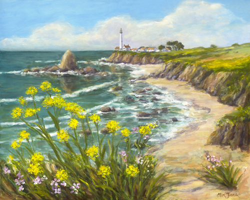 """Pigeon Point Lighthouse"" by Ellen Joseph"