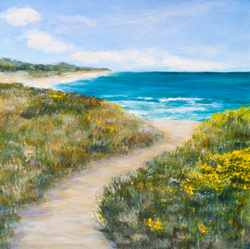 """Venice Beach Walk"" by Ellen Joseph"