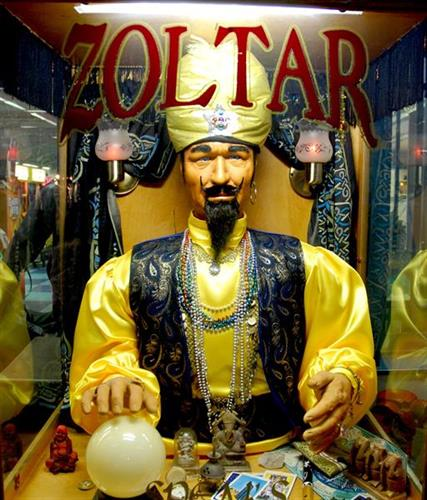 Of course, Zoltar always has some wisdom to share.