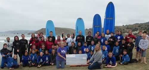ABCD & Flavor Donate to Pacifica Surf Camp for kids with Type 1 Diabetes.