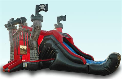 3D Pirate Slide