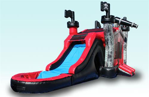 3D Pirate Water Slide