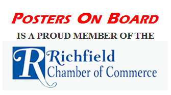 Posters on Board is committed to the Penn Central area of Richfield, enhancing the opportunities of those who visit the area.