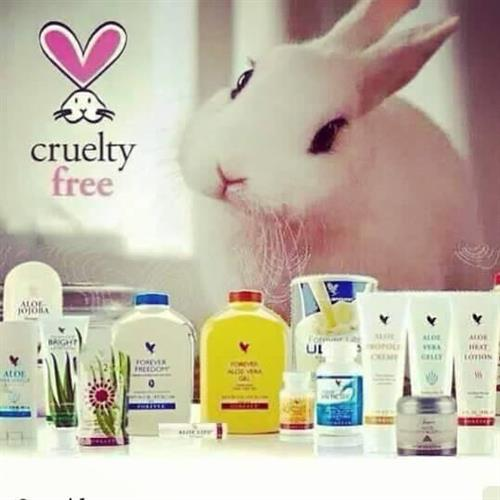 Cruelty free products.